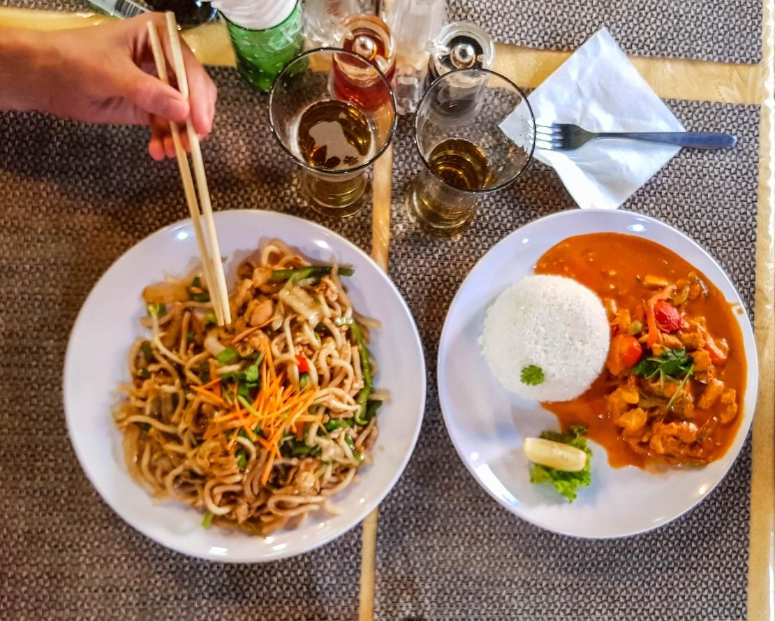 Mongolian food